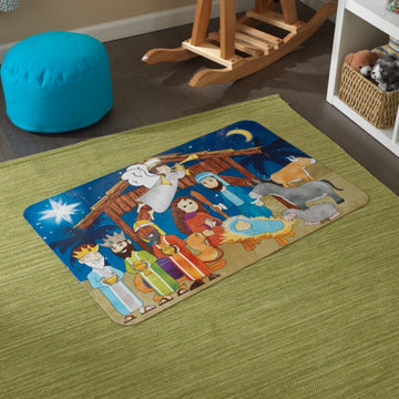 Floor Puzzle Nativity Scene