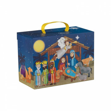 Nativity Scene Travel Box Play Set