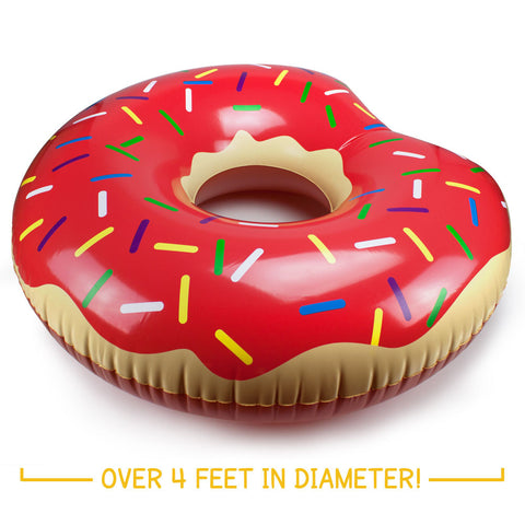 Jumbo Donut Pool Float