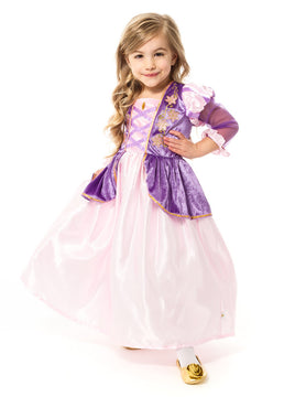 Satin Rapunzel Costume
