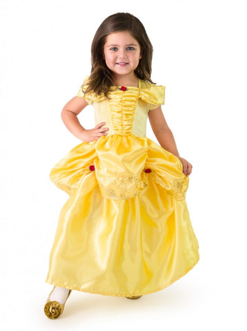 Satin Yellow Beauty Costume