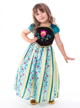 Scandinavian Coronation Princess Costume