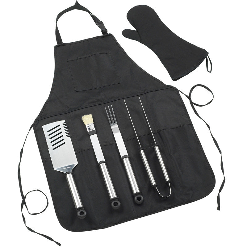 BBQ Chef's Barbecue Apron & Tools