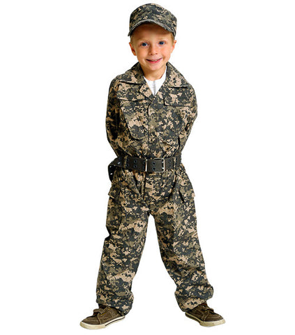 Jr. Camouflage Suit Costume
