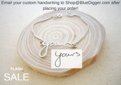Personalized Handwriting Bracelet - 20% OFF!