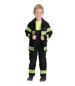 Jr. Fire Fighter Suit Costume