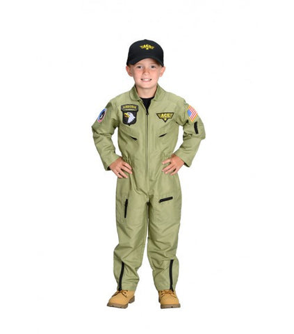 Jr. Fighter Pilot Suit Costume
