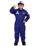Jr. Flight Suit With Hat Costume