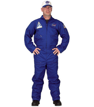 Adult Flight Suit With Hat Costume