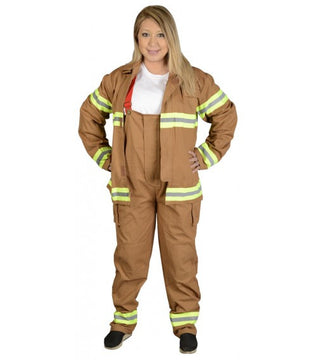 Adult Fire Fighter Suit Costume