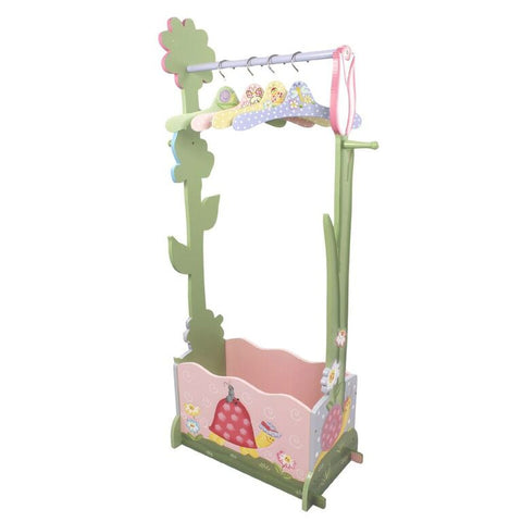Magic Garden Dress Up Valet Rack w/ 4 Hangers