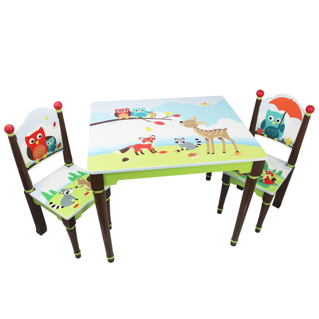 Enchanted Woodland Table & Set of 2 Chairs