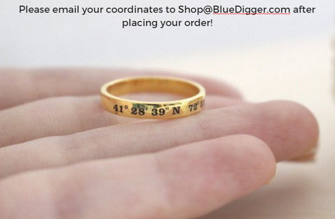 Personalized Coordinates Ring
