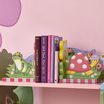 Magic Garden Set of Bookends