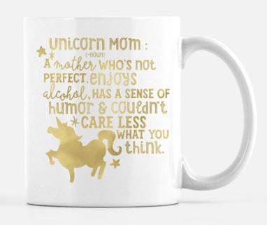 Unicorn Mom Mug