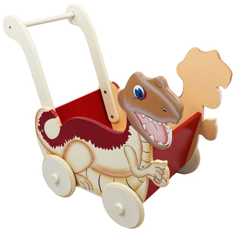 Dinosaur Kingdom Push Cart