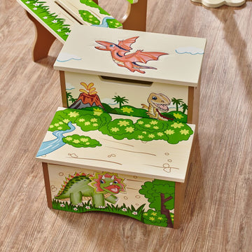 Dinosaur Kingdom Step Stool