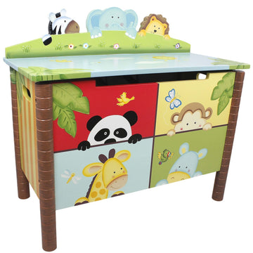 Sunny Safari Toy Chest