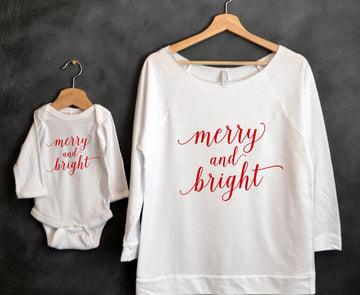 Merry & Bright Mom and Baby Combo