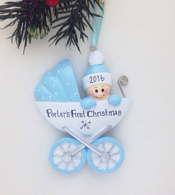 Personalized Christmas Ornament Baby's First Christmas