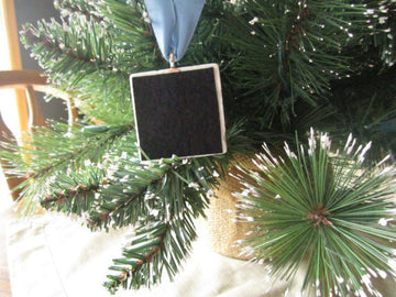 Our First Christmas Holiday Ornament, Tree design With Gift Box