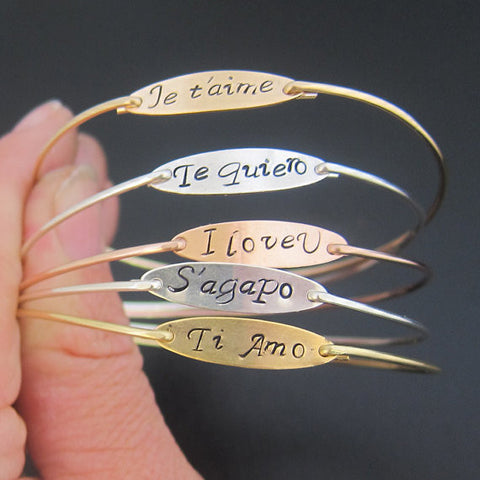 I Love You Multi-Language Bracelet