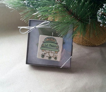 Just Married Christmas Ornament