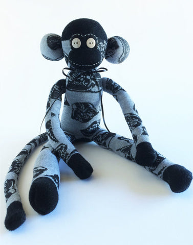 Star Wars Darth Vader Sock Monkey
