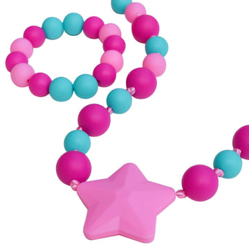 Sensory Chew Necklace - Starlight Chewelry
