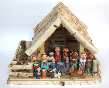 Nativity Family Peg Dolls