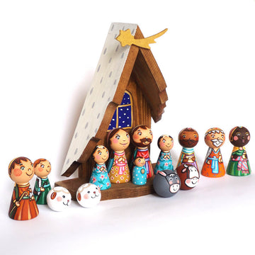 Christmas Nativity Set for Kids