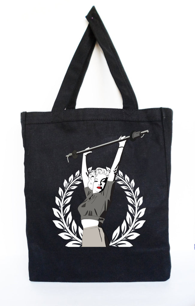 Marilyn Monroe Lifting Workout Tote