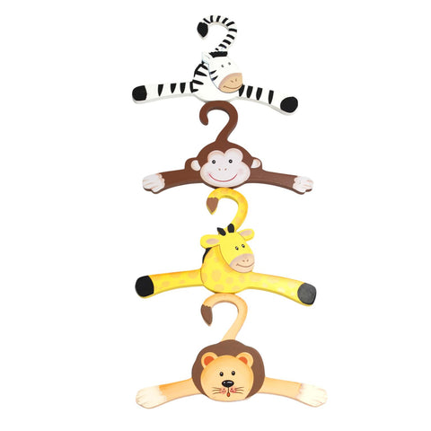 Sunny Safari Set of 4 Hangers