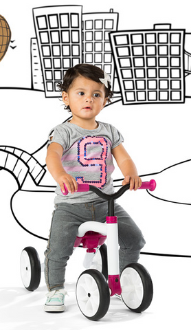 Quadie Grow-with-me Adjustable Ride-on