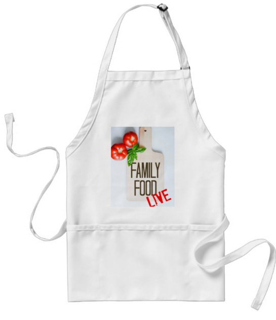 Family Food Live Apron