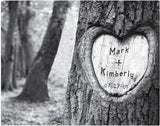 Personalized Tree of Love Canvas Print