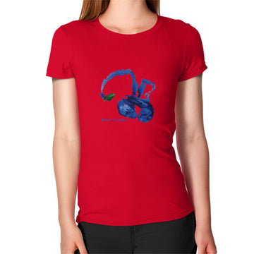 Women's Blue Digger T-Shirt Red Blue Digger
