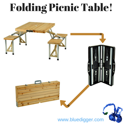 Portable Picnic Table Set