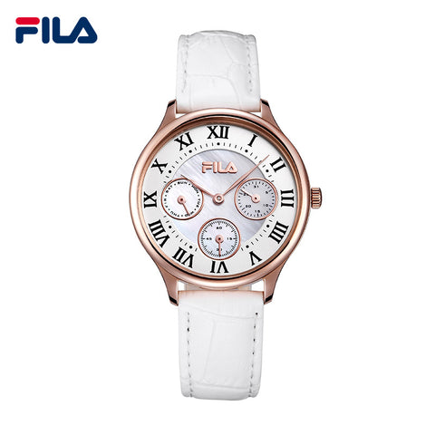 Fila Fashion and Casual Special Designed 3 Circle Clock Dials Watch Roman Scale Watch for Women 38-774