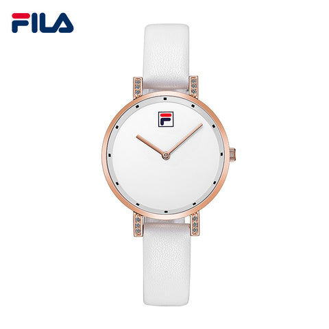 Fila Fashion and Casual Simple Leather Strap Top Sale Quartz Watch for Women Lady 38-783