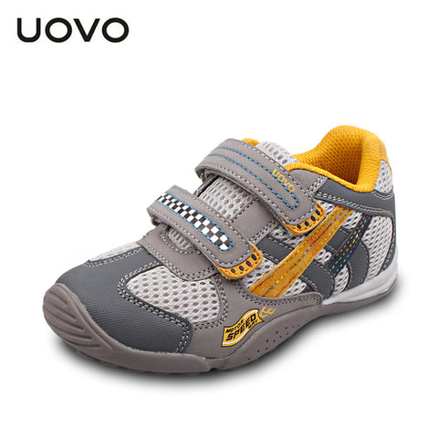 UOVO newest 2015 mesh shoes for kids gilrs and boys casual sport shoes breathable children sneakers shoes size 26-35