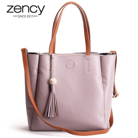 2016 New Famouse Brand Genuine Leather Women Handbag Lady Shoulder Crossbody Tote Shopper Bags Casual Purse Bolsa Feminina Mujer