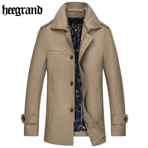 2016 New Hot Sale Mens Designer Clothing British Style Trench Coat Winter Autumn Windbreaker Men Overcoat MWF270