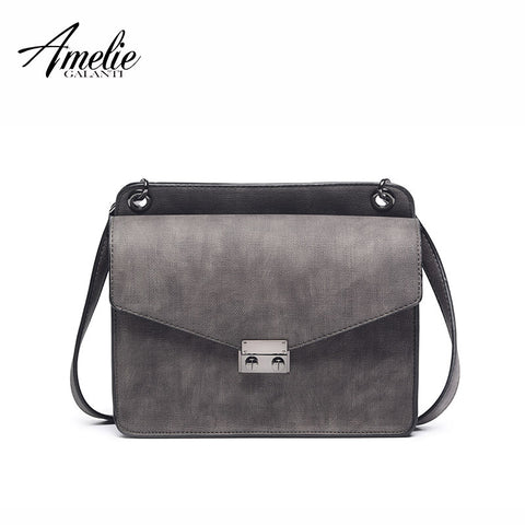 AMELIE GALANTI vintage women crossbody bag small and exquisite classical totes functional fresh cool to keep casual versatile