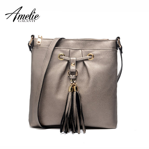 AMELIE GALANTI messenger bags for women flap casual to carry made by cotton inside zipper hard versatile fashion trend new 2016