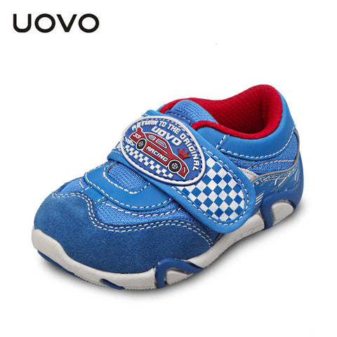 UOVO 2015 autumn new baby shoes little children sport shoes synthetic pu toddler boys shoes