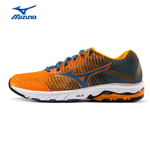 MIZUNO Men WAVE ELEVATION Mesh Breathable Light Weight Cushioning Jogging Running Shoes Sneakers Sport Shoes J1GR141701 XYP296
