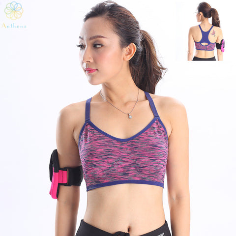 2016 Beauty In Naturalness Women Strappy Widen Sports Bra Fitness Yoga Gym Running Push Up Vest Type Underwear Slim Casual