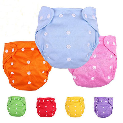 Cloth Diaper 100% Cotton Reusable Baby Diapers Infant Nappy Cloth Soft Covers Washable Adjustable Fraldas Winter Summer Version