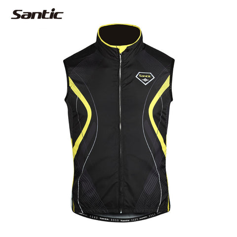 2015 Charges Santic Cycling Jersey  Men Sleeveless Clothing Chaleco Ciclismo Bicycle Windproof  Waistcoat Sleeveless MC07012